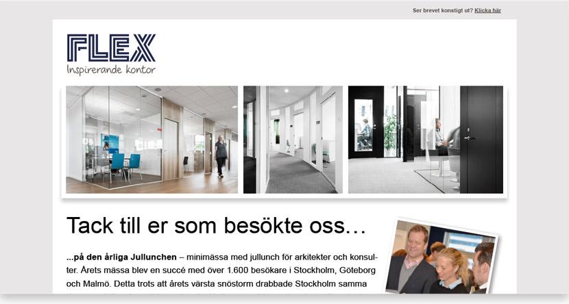 FLEX Nyhetsbrev
