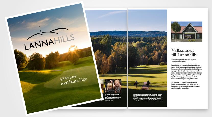 Lannahills broschyr