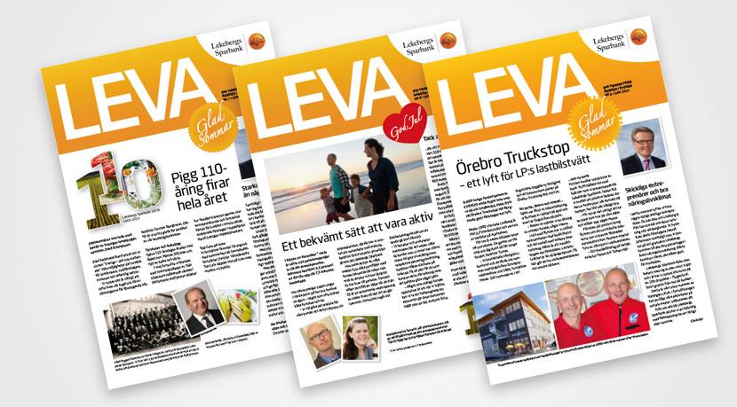 Lekebergs Sparbank LEVA kundtidning