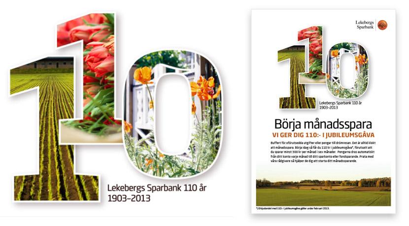 Lekebergs Sparbank 110 år