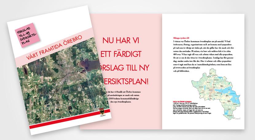 Örebro kommun broschyrer