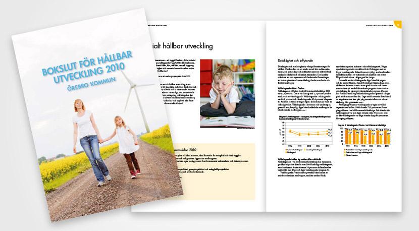 Örebro kommun rapporter, årsredovisningar