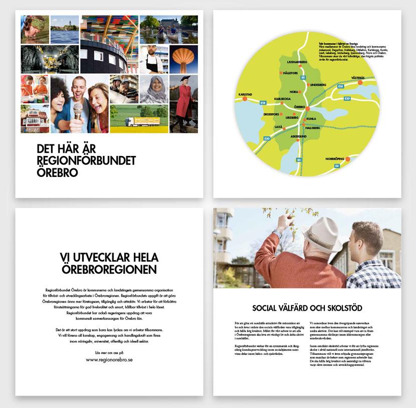 Regionförbundet broschyr